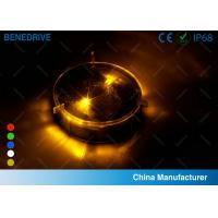 Quality 1 LED Each Side 2 Directions Solar Road Markers Well Fit Road Surface Energy Efficiency for sale