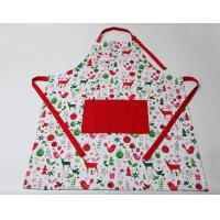 Quality Durable Colorful Cute Cooking Aprons Cotton Polyester  Logo Embroidery Print for sale