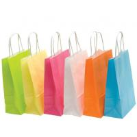 Buy cheap Recyclable Colored Kraft Paper Bags , Custom Brown Paper Bags For Department from wholesalers