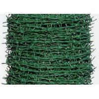Quality PVC Coated Security Barbed Wire Fencing With Low Carbon Steel Materials for sale