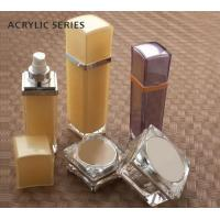 Buy square 15ml 30ml 50ml 100ml essence cosmetic acrylic bottle packaging at wholesale prices