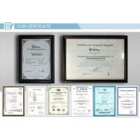 the certificate for display showcase