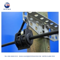 Quality 6mm 2KN Standard HDG Steel ADSS Suspension Clamp for sale