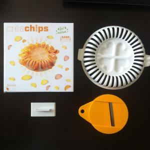 Quality Creachips Potato Chips Maker Slice the food using the slicer for sale