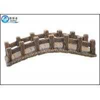 Quality Fish Tank Aquarium Resin Ornaments , Larger Artificial Resin Arch Bridge for sale