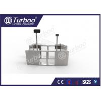 Quality Pedestrian Optical Barrier Turnstiles / Swing Gate Turnstile For Access Control for sale