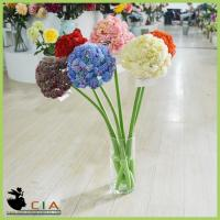 China China Factory Wholesell Artificial Hydrangea Silk Flower Bouquet for Table Centerpiece on sale