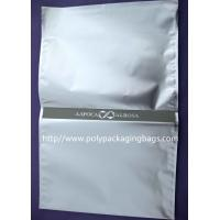 Quality Silver Aluminium Foil Bag Self Adhesive Plastic Bag With Adhesive Seal for sale