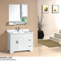 Buy cheap Floor mounted Traditional Bathroom Vanities with sink 100X 48 X 85 / cm from wholesalers