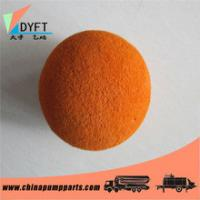 Quality DN125 Concrete Pump Pipe Cleaning Sponge Ball for sale