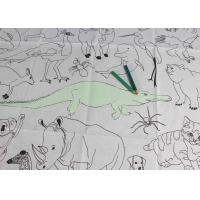 Quality Double Soft Biodegradable Disposable Paper Tablecloth For Children Drawing for sale