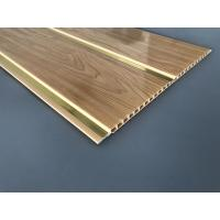 Buy 250 × 7 MM × 5.95M PVC Wood Panels Middle Groove Shape Easy Installation at wholesale prices