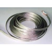 Quality Custom Diameter Tinned Copper Braid Shield For Cable Wire Grounding Harness for sale