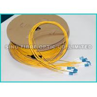 Quality 2.0MM 9 / 125um Pre Terminated Fiber Optic Cable OS2 For Telecom Utilities for sale