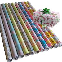 Quality 30inch x 120inch gift wrapping paper 80gsm coated paper wholesale wrapping paper for sale