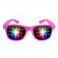 Quality RCGTS14 lady' s comfortable Colorful frame 0.20mm PET lens Firework Glasses for promotion for sale