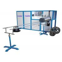 Quality Fully Automatic Aluminum Steel Wire Rolling Spiral Duct Machine 45 m / Min Speed for sale