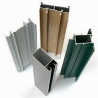 Quality Extruded T6 6061 Aluminium Profiles , Fluorocarbon Powder Spray Coated Profiles Extrusion for sale