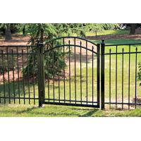 Quality Garden gate Aluminum swing gate fence gate for sale