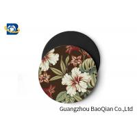 Quality Vivid Depth Effect 3D Floral Lenticular Coasters PET/ EVA Material Customized Size for sale