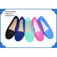 Quality Sell ladies PVC slippers fashion new design ASM-990 36-41# for sale