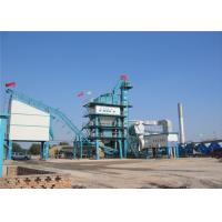 Quality 160TPH Stationary Asphalt Dryer Ready Mix Batching Plant 23M2 Screening Area for sale