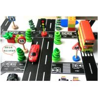 China Car Toys Marking Road Solid Washi Tape Rice Paper No Residue Torn By Hand on sale