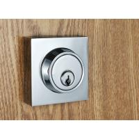 Buy Entry Locking Door Handles Silver Zinc Alloy Plate American Standard Lock Body at wholesale prices
