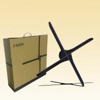 Quality 3d 100 Cm Hologram Display Fan With SD Card / WiFi Indoor Advertising Equipment for sale