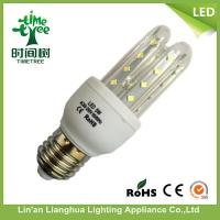 Quality 85V - 265V 5W LED Corn Light For Home / Hotel , LED Corn Lamp E27 for sale