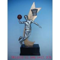 Quality resin basketball trophy for sale