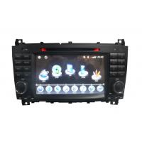 Quality ST-8731 Radio Fully Touch Screen Steering Wheel Benz DVD GPS For Benz C-Class W203 / CLC for sale