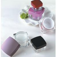Quality empty 5ml 10ml 15ml 30ml 50ml plastic square cosmetic power jar with sifter for sale