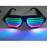 Quality 2019Hot Sales New Style Rechargeable LED Flashing Glasses for Promotion Gift Wear at Rave Concert Rave Party Dancing for sale