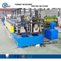 Buy cheap Drywall Stud And Track Roll Forming Machine / Roll Forming Equipment For Light Steel Track from wholesalers