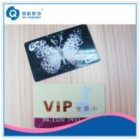 China Silk Screen Plastic Card Printing , Customized Printed PVC Business Card on sale