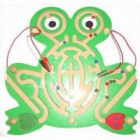 Quality Magnetic Maze Toy Puzzle, Coated with Child-safe Lead-free Paint for sale