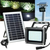 Quality Eco - Friendly Outdoor Solar Street Light / Solar Flood Light Low Light Decay for sale