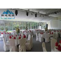 Snow Load Marquee Canopy Tent Sound Insulation With Double PVC Coated Cover
