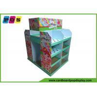 Quality Recycled Retail POS Cardboard Pallet Display Loading Heavy Products For Toys PA031 for sale