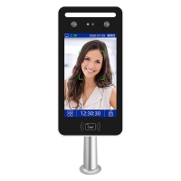 China 8 Inch Face Recognition Device With IC / ID Card And QR Code Access Control on sale