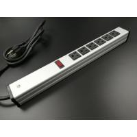 Buy Universal Mountable Six Socket Extension Cord Power Strip Dustproof Aluminum Shell at wholesale prices