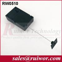 Quality Adhesive Quadrate ABS Plate Retractable Security Tether For Retail Displays for sale