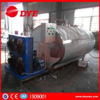 Buy Sus304 1000 Liter Milk Cooling Tank Refrigeration Compressor ISO9001 at wholesale prices
