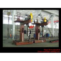 Quality L Shape Column And Boom H Beam Welding Machine for H Beam Welding Line 15m Rail for sale