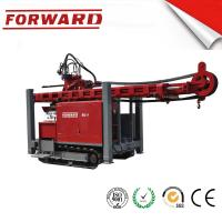 Quality Crawler Mounted Hydraulic Mud / Water Borehole Drilling Rig 420 Mm Maximum Diameter Drilling Hole for sale