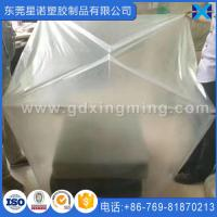 China 44x 36x 96Transparent PE Plastic Pallet Cover Fits for Pallet on sale