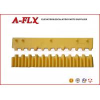 Quality Yellow Inserts - Middle GO455G3 Escalator Demarcation Yellwo Platic for sale