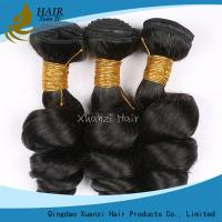 Quality No Fibers Virgin Human Hair Extensions Without Chemical Processing / Bleaching for sale