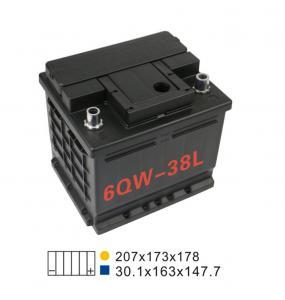 Quality SMF 330A 12V Lead Acid Car Battery 12V36AH 6 Qw 38L Car Starter Battery for sale